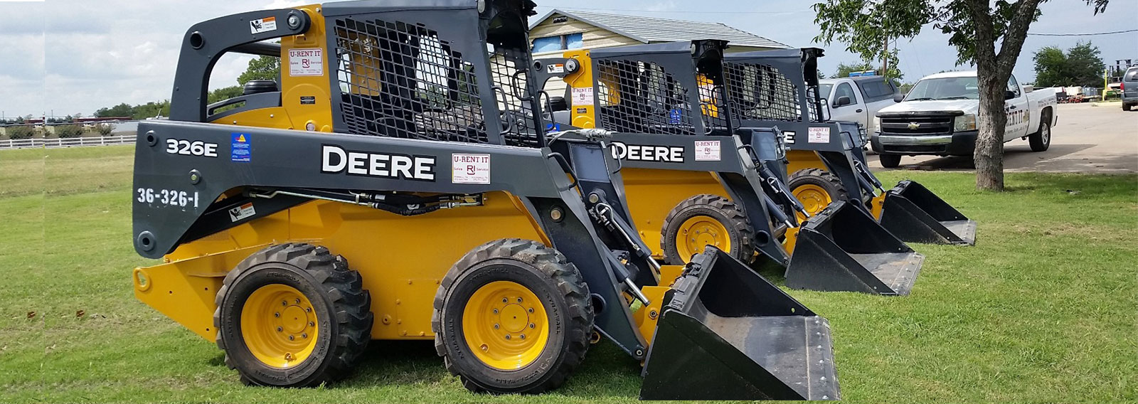 Earthmoving rentals in Terrell, Rockwall, Gun Barrel City and Mabank Texas