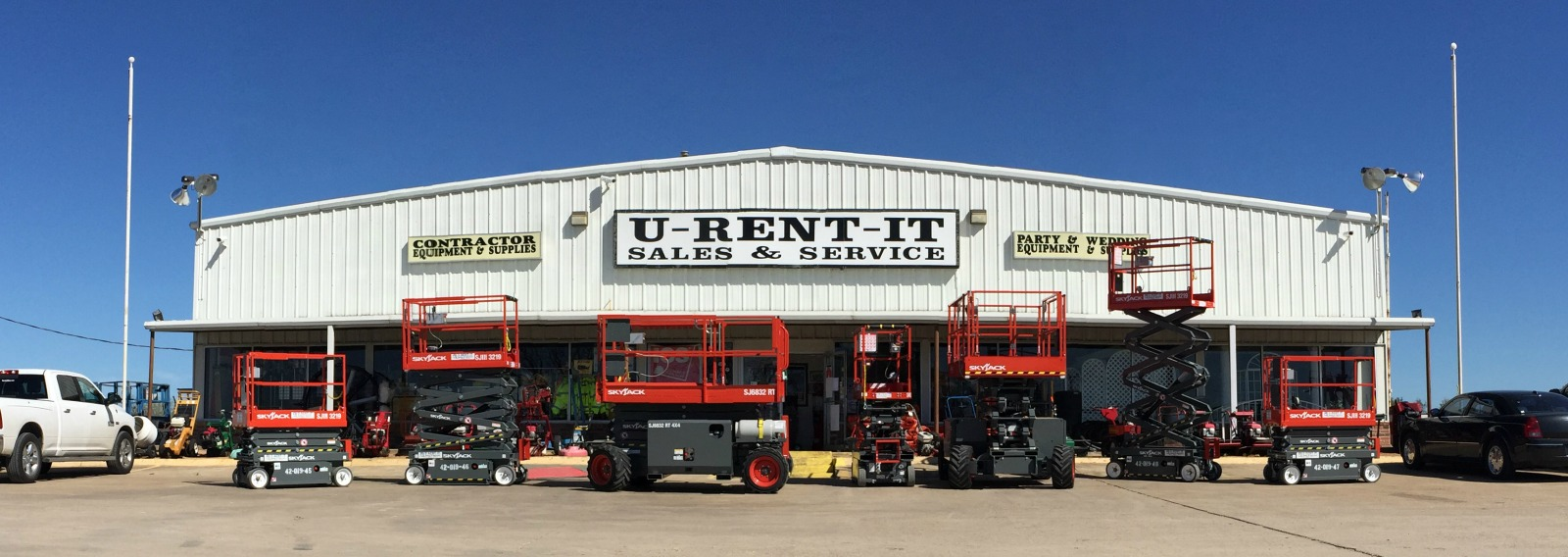 Contractor rentals in Terrell, Rockwall, Gun Barrel City and Mabank Texas