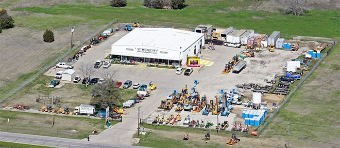 Equipment rentals in Terrell, Rockwall, Gun Barrel City and Mabank Texas