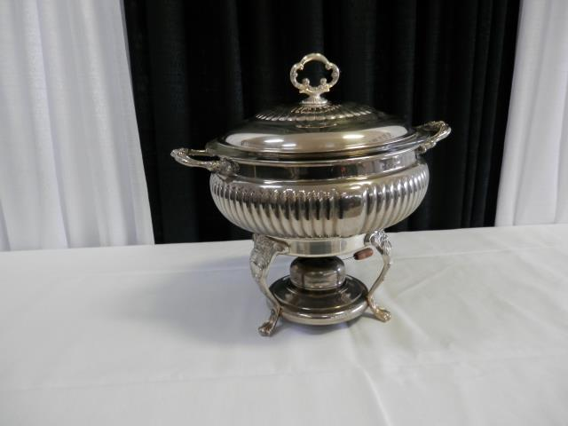 Where to find CHAFFER 3 QT RD DISH SILVER in Terrell