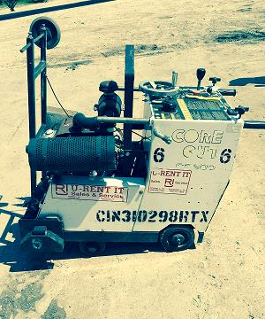 Where to find SAW, CONCRETE 25HP SELF PROPEL in Terrell