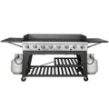 Rental store for GRILL PROPANE 8 BURNER BLACK in Terrell TX