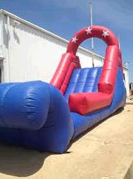 Where to find SPACE WALK WATER SLIDE  HEADER in Terrell