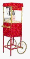 Rental store for POPCORN POPPER W CART LGE in Terrell TX