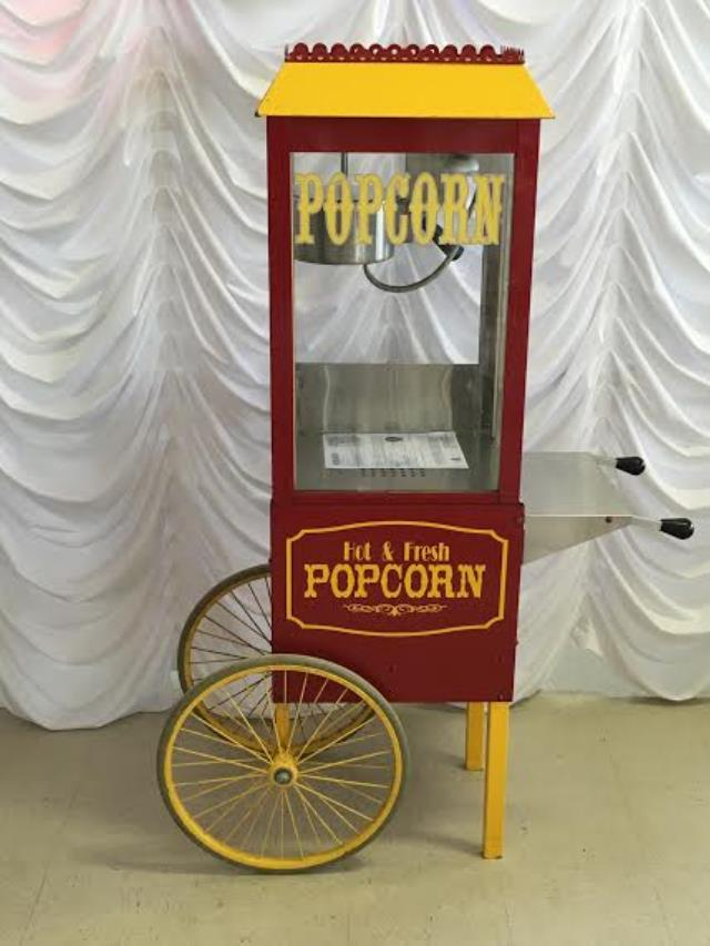Where to find POPCORN POPPER W CART SMALL in Terrell