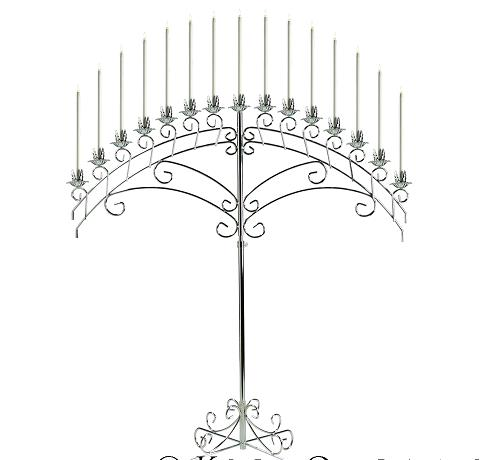 Where to find CANDELABRA, FAN SILVER 15 in Terrell