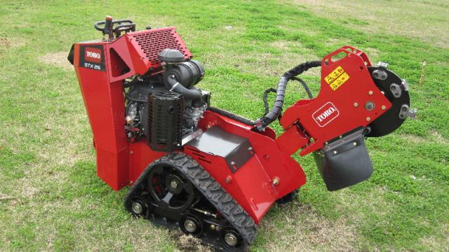 Where to find STUMP GRINDER S PROP W TRAILER 26HP in Terrell