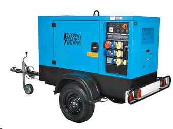 Where to find GENERATOR 50 KW TOWABLE in Terrell