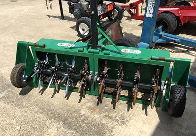 Aerator 48 Inch Tow Behind W Weight Rentals Terrell Tx