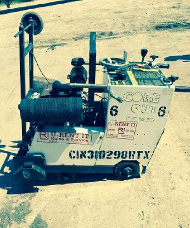 Where to find SAW, CONCRETE 35 HP SELF PROPEL in Terrell