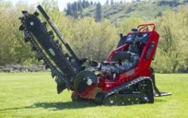 Where to find TRENCHER BARRRETO 20HP W TRAILER in Terrell