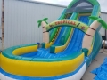 Rental store for SPACE WALK WATER SLIDE TROPICAL in Terrell TX
