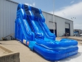 Rental store for SPACEWALK WATER SLIDE BLUE MARBLE in Terrell TX