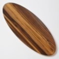 Rental store for TRAY, MELAMINE 25 OVAL OLIVE WOOD in Terrell TX