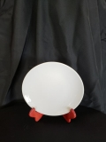 Rental store for PLATE CHINA SALAD WHITE OVAL8.25 in Terrell TX